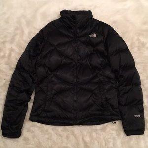 Black Northface 550